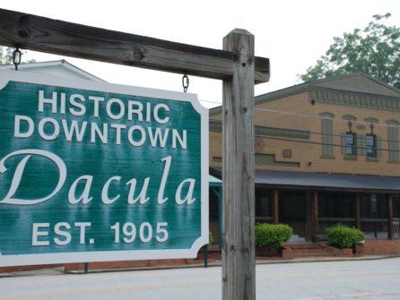 Historic Downtown Dacula Georgia