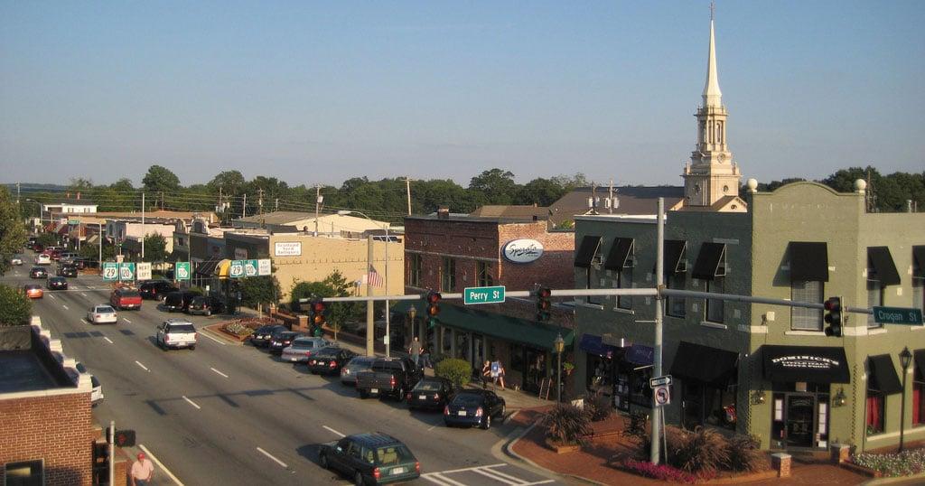Downtown Gwinnett County Georgia