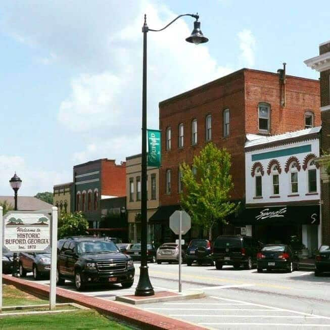 Historic Downtown Burford